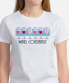 Wines Constantly Women's T-Shirt