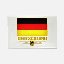 Deutsch Flagge Rectangle Magnet