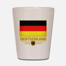 Deutsch Flagge Shot Glass