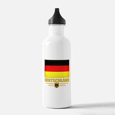 Deutsch Flagge Water Bottle