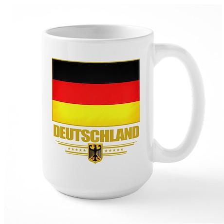 Deutsch Flagge Large Mug
