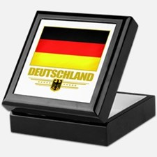 Deutsch Flagge Keepsake Box