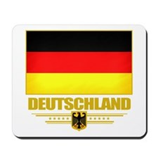 Deutsch Flagge Mousepad