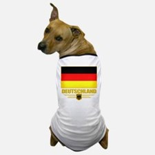 Deutsch Flagge Dog T-Shirt