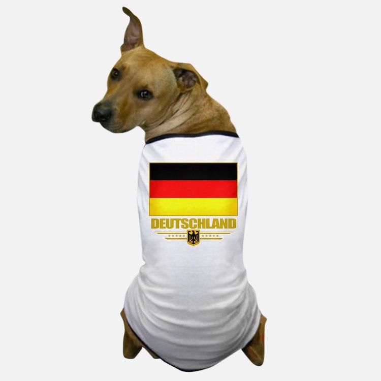Deutsch Flagge Dog T-Shirt