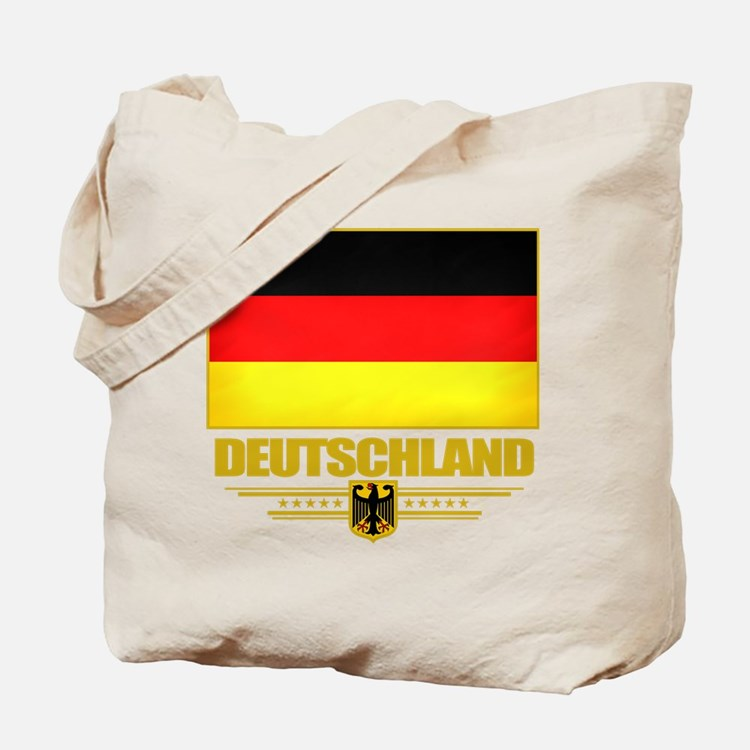 Deutsch Flagge Tote Bag