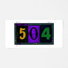 NOLA 504 Aluminum License Plate