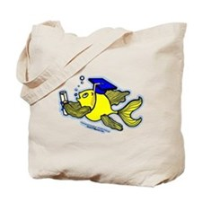 Graduation Fish Graduate Tote Bag