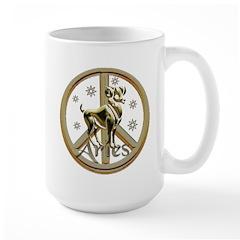 Aries Zodiac Peace Mug