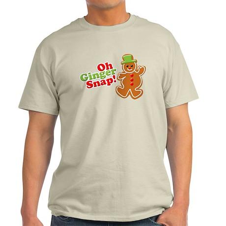 Oh Ginger Snap 2 Light T-Shirt