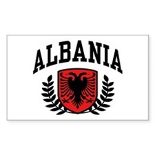 Albania Rectangle Decal