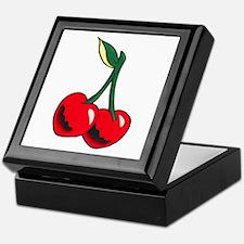 Cherries Tattoo Keepsake Box