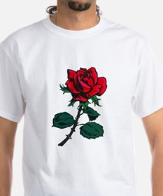 Red Rose Tattoo Shirt