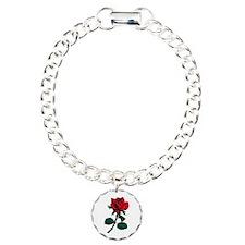Red Rose Tattoo Bracelet
