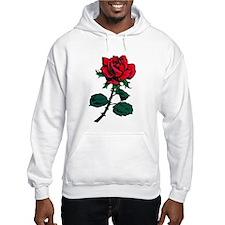 Red Rose Tattoo Hoodie