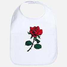 Red Rose Tattoo Bib