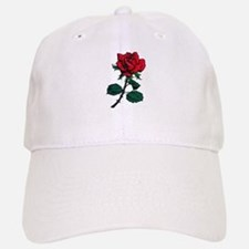 Red Rose Tattoo Baseball Baseball Cap