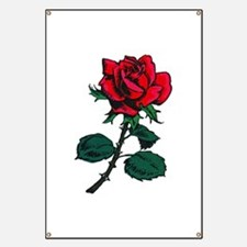 Red Rose Tattoo Banner