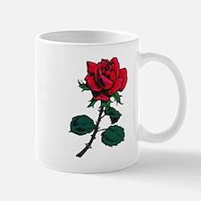 Red Rose Tattoo Mug