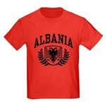 Albania Kids Dark T-Shirt