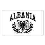 Albania Rectangle Sticker