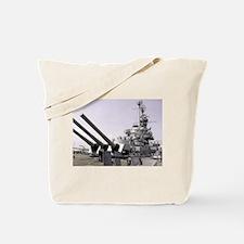 USS Alabama Tote Bag