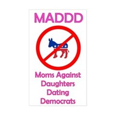 Moms Against Daughters Dating Democrats Decal