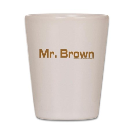 Reservoir Dogs Mr. Brown Shot Glass