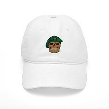 Green Beret Skull Baseball Cap
