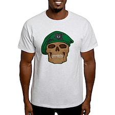 Green Beret Skull T-Shirt
