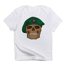 Green Beret Skull Infant T-Shirt