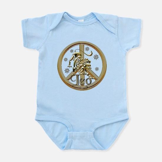 Leo Zodiac Peace Infant Bodysuit