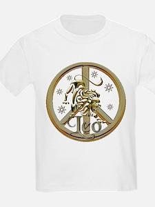 Leo Zodiac Peace T-Shirt