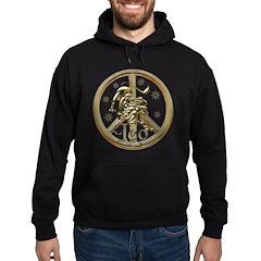 Leo Zodiac Peace Hoodie