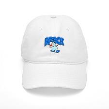 Breck Snowboarder Baseball Cap