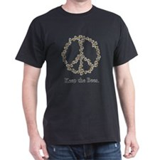 Keep the Bees (peace symbol) T-Shirt