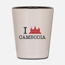 I Angkor (Love) Cambodia Shot Glass