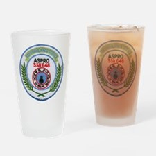USS ASPRO Drinking Glass
