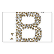"""""""B"""" (made of bees) Decal"""