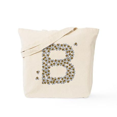 """B"" (made of bees) Tote Bag"
