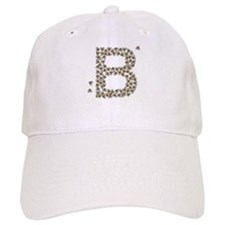 """B"" (made of bees) Baseball Cap"