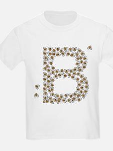 """B"" (made of bees) T-Shirt"