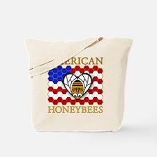 American Honeybees Tote Bag