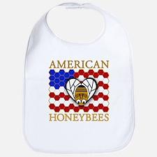 American Honeybees Bib