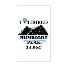 I Climbed HUMBOLDT PEAK Stickers