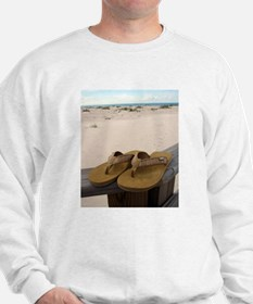 Flip Flops on Vacation Sweatshirt