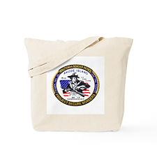 RHODE ISLAND Minuteman Border Tote Bag
