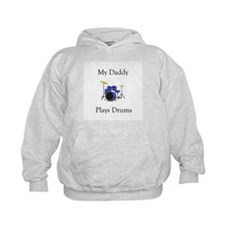 Daddy Plays Drums Hoody