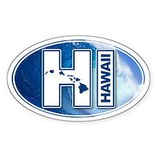 Hawaii Oval Decal