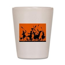 Witches Dance 2 Shot Glass